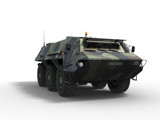 AFC11CT Army Vehiclerender on white