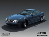 Mercedes SL500 render wallpaper