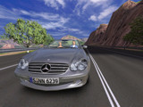 Mercedes SL500 in-game screenshot