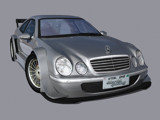 Mercedes CLK-DTM render wallpaper