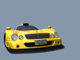 Mercedes CLK-GTR render wallpaper