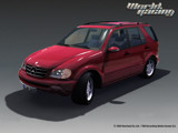 Mercedes ML-class render wallpaper