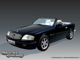Mercedes SL73 render wallpaper